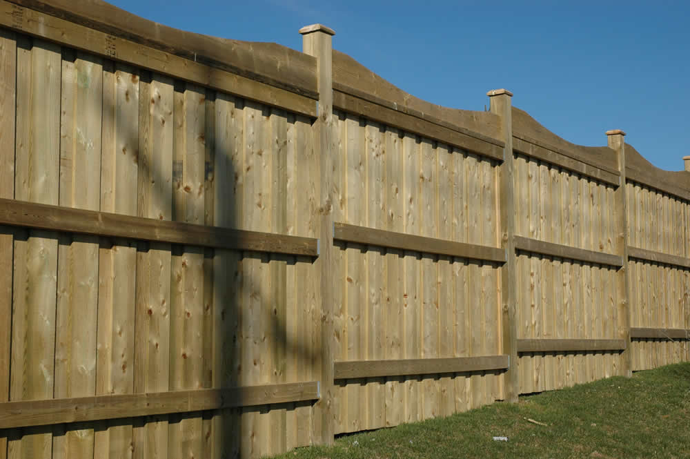 Traditional Wood Fence Parts