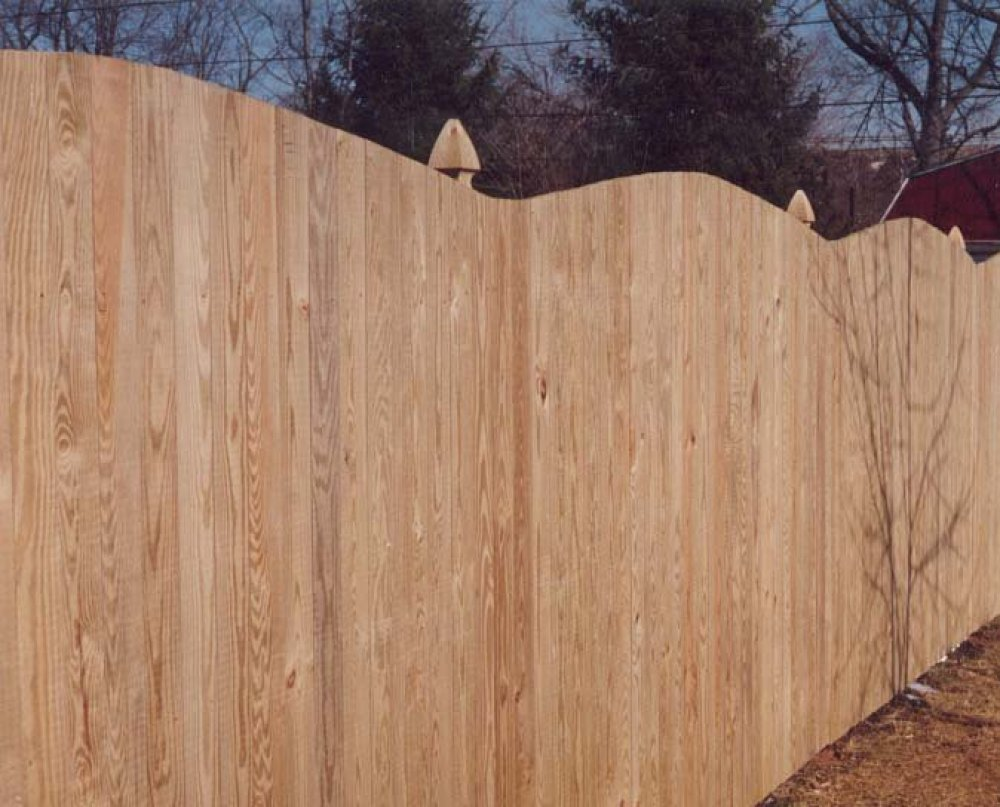 Picture of: Traditional Wood Fence Styles