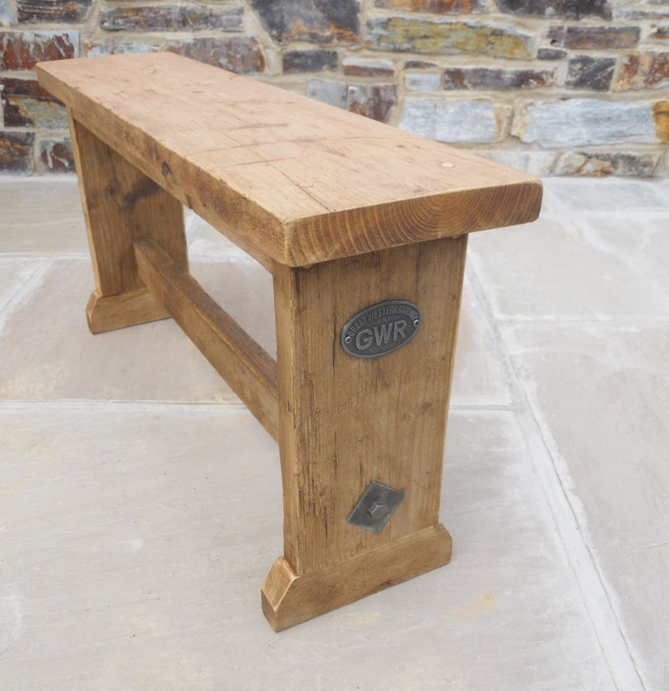Picture of: Traditional Wooden Bench Seat