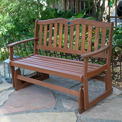 Picture of: Traditional Wooden Glider Bench