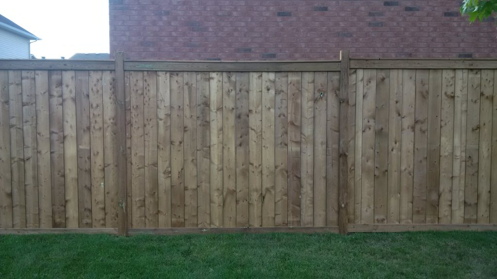 Picture of: Treated Wood Fence Boards