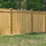 Treated Wood Fence Designs