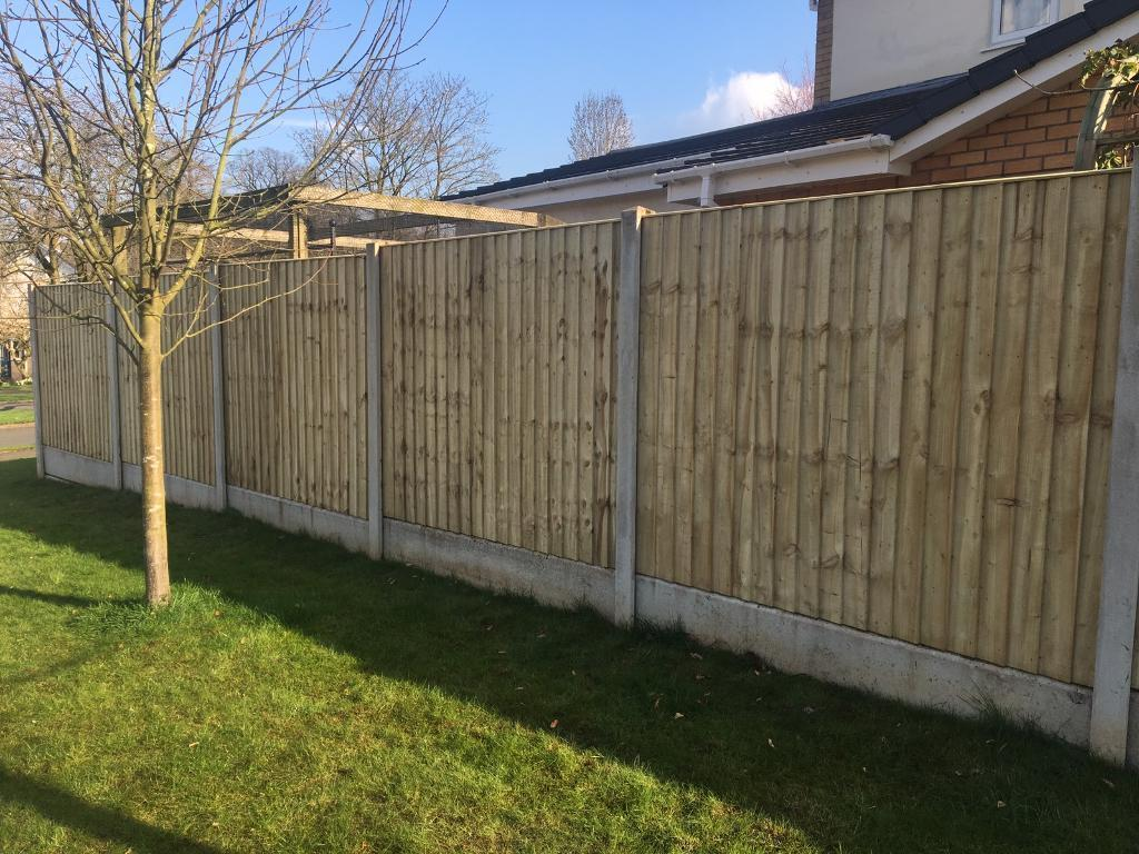 Picture of: Treated Wood Fence Posts