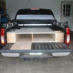 Truck Bed Storage Drawers in Garage