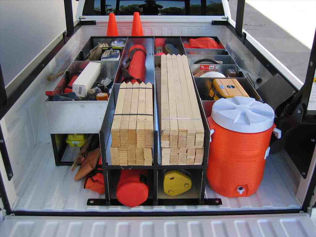 Picture of: Truck Bed Tool Box Organizer