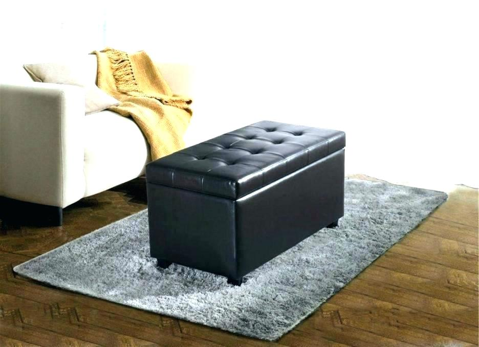Tufted Leather Bench Cushion