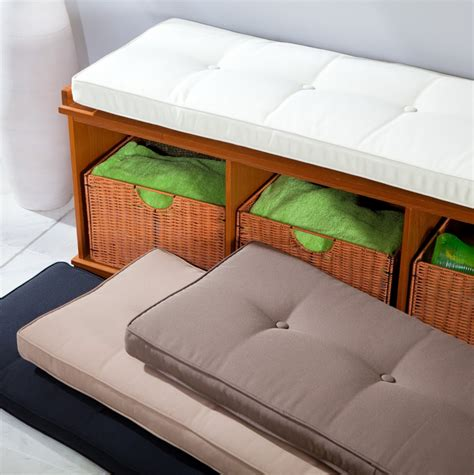 Picture of: Types Indoor Bench Seat Cushions