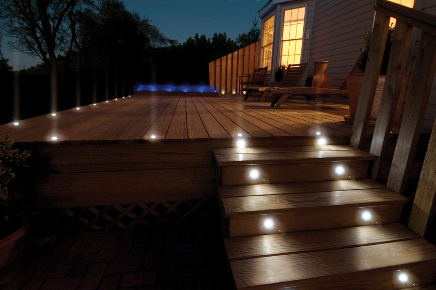 Types Outdoor Deck Lighting