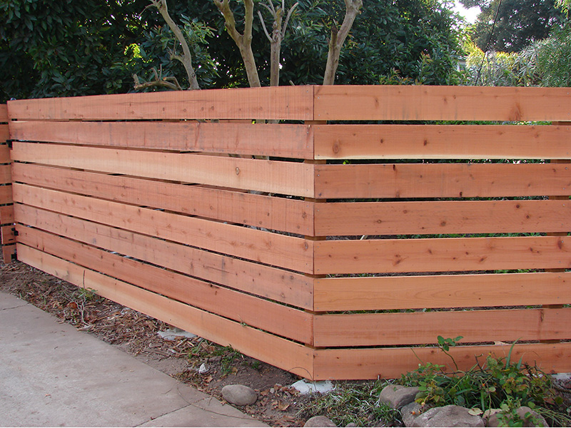Picture of: Types of Wood Fence Panels