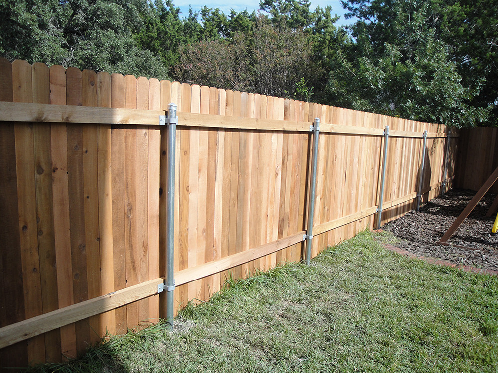 Picture of: Types of Wood Fences Design
