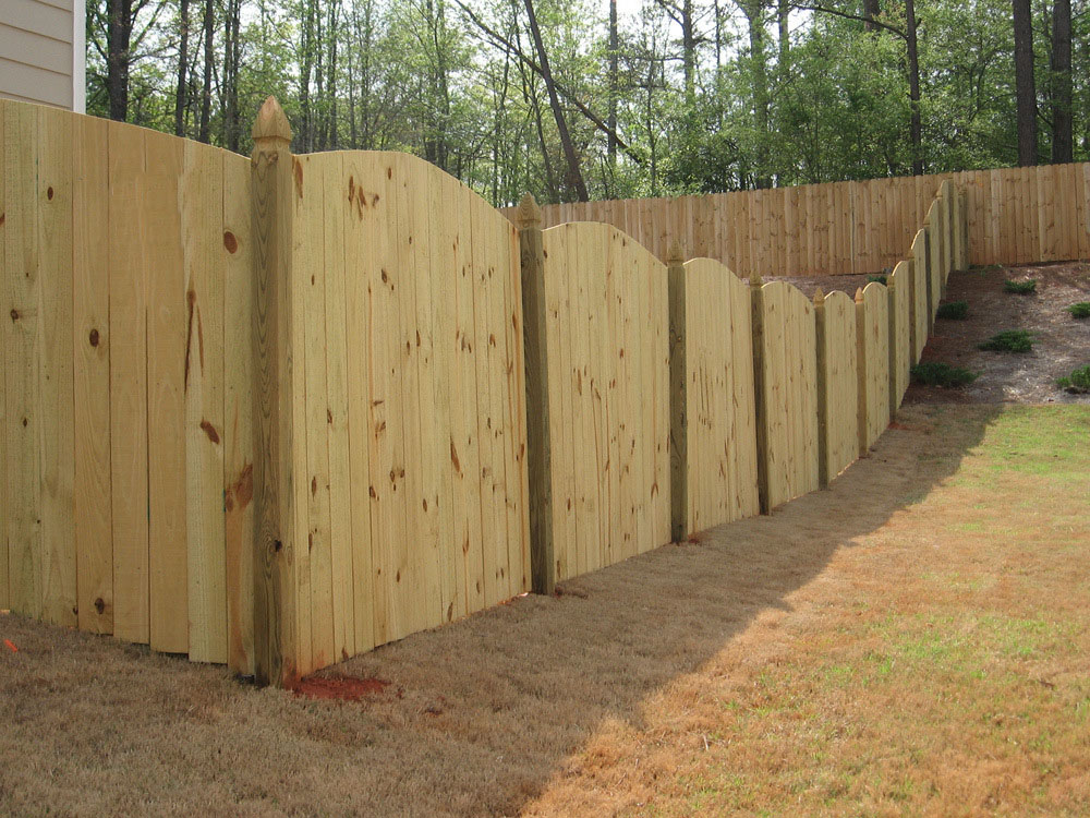 Picture of: Types of Wood Fences Style