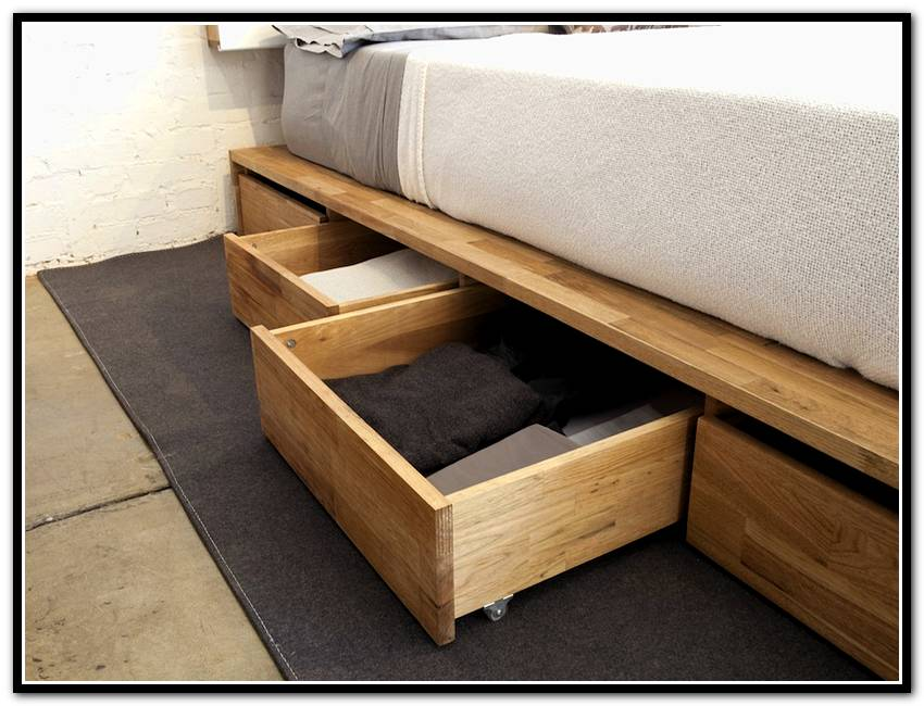 Effectiveness And Suitability Under Bed Storage Ideas