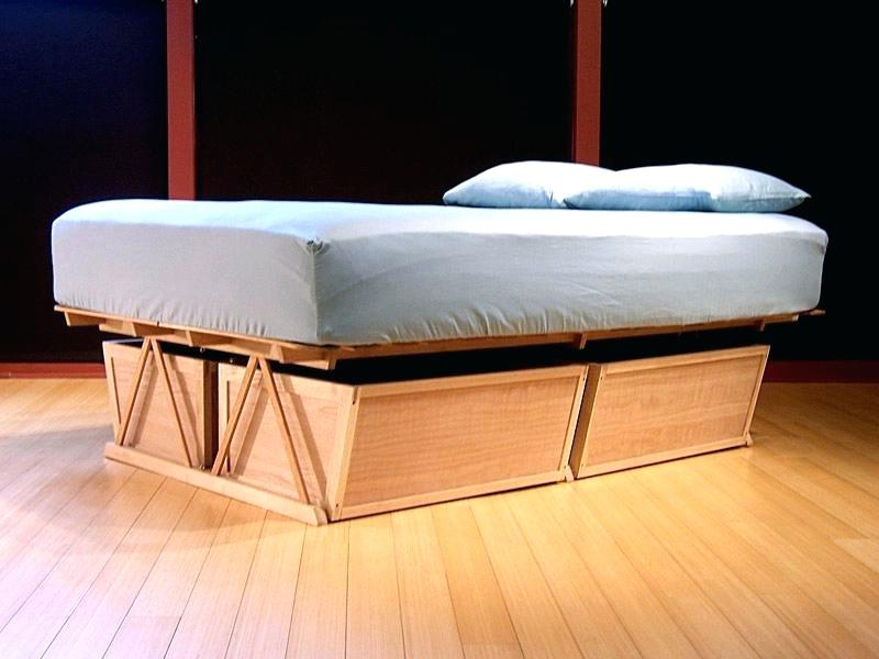 Unique Full Size Captains Bed With Storage
