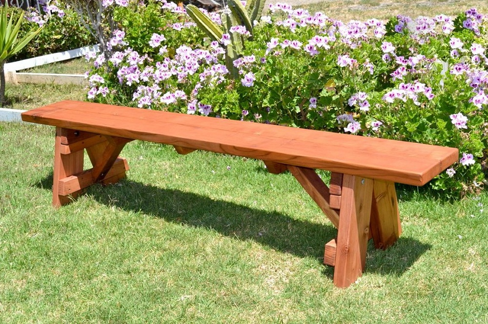 Picture of: Style Wooden Benches For Outside