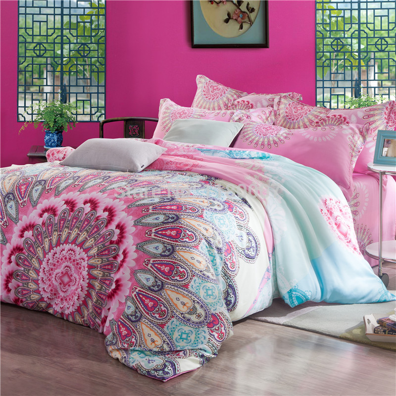 Image of: Unusual Hippie Bedding Sets