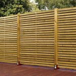 Unusual Horizontal Fence Panels