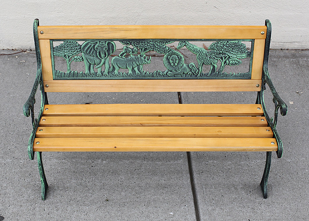 Picture of: Unusual Kids Wooden Bench