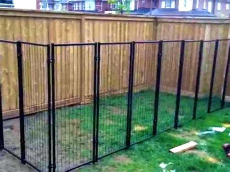 Picture of: Unusual Portable Dog Fence