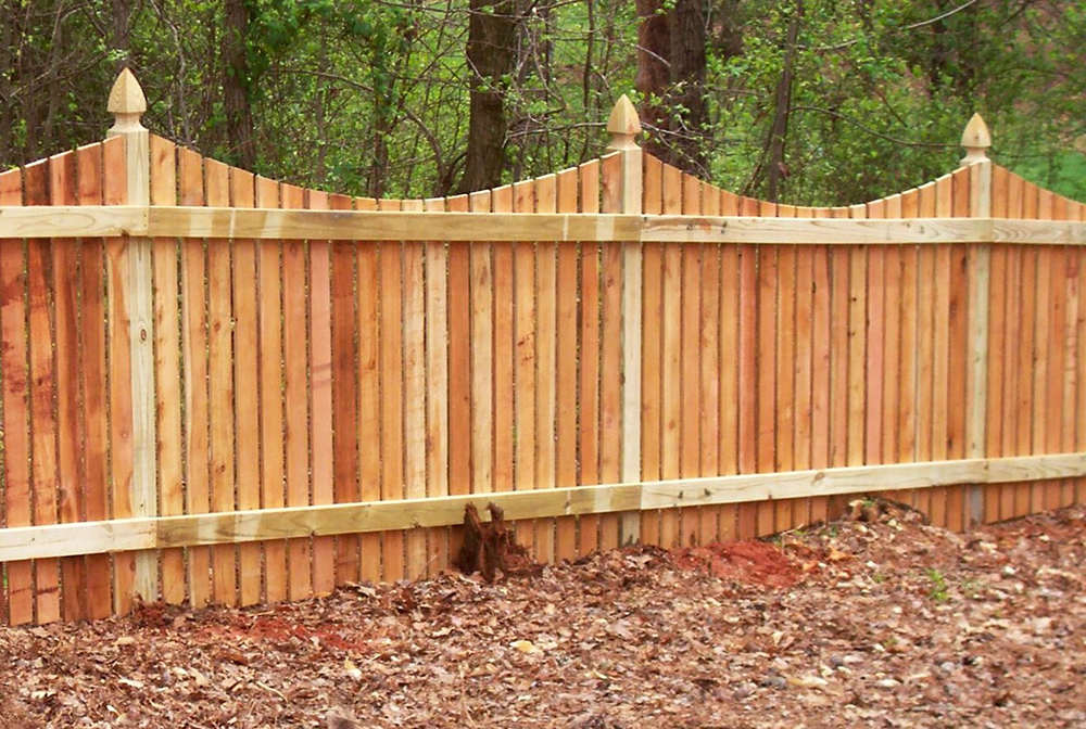 Picture of: Unusual Wood Fence Styles
