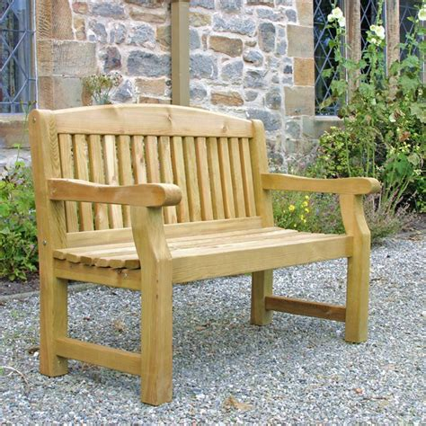Unusual Wooden Bench Seat