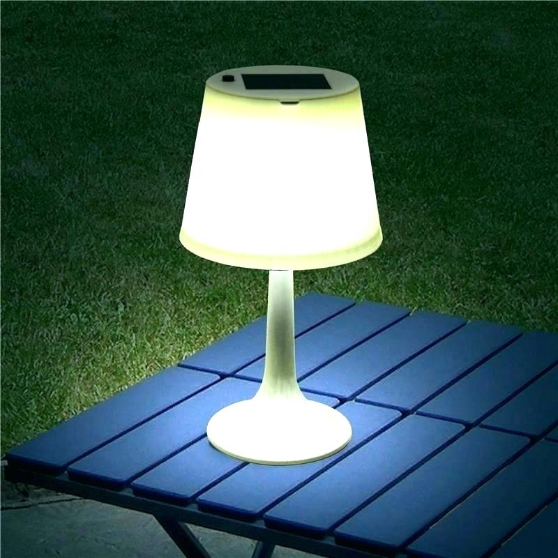Use Outdoor Solar Table Lamp