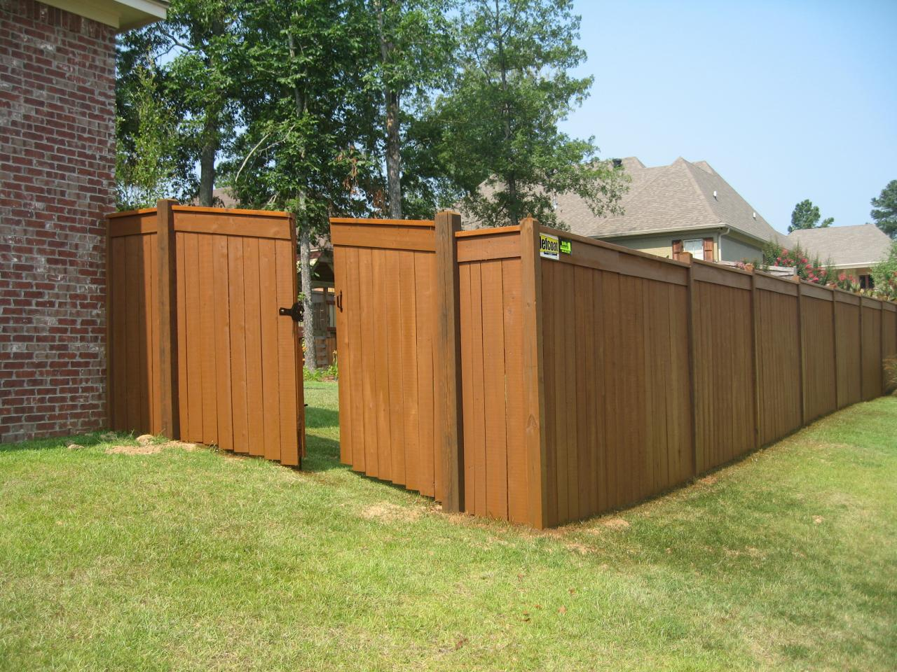 Picture of: Use Wood Fence Stain Colors