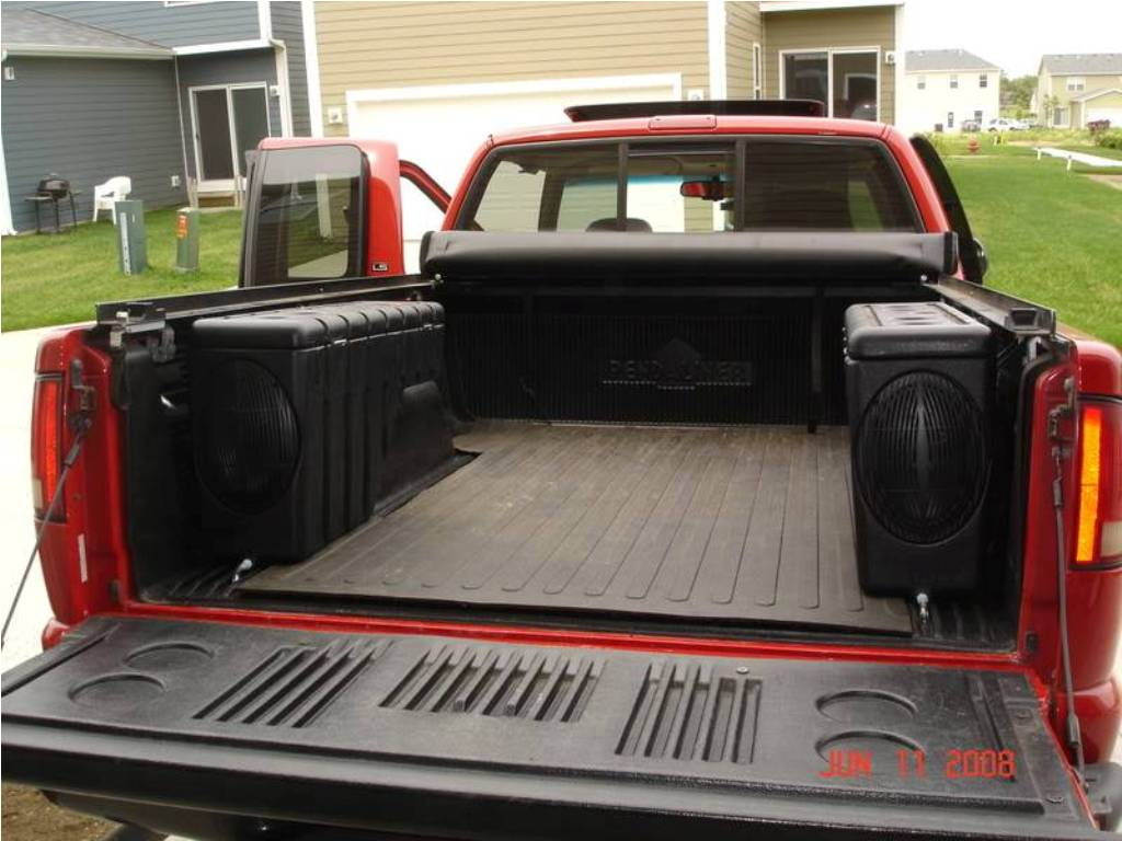 Picture of: Used Waterproof Truck Bed Storage