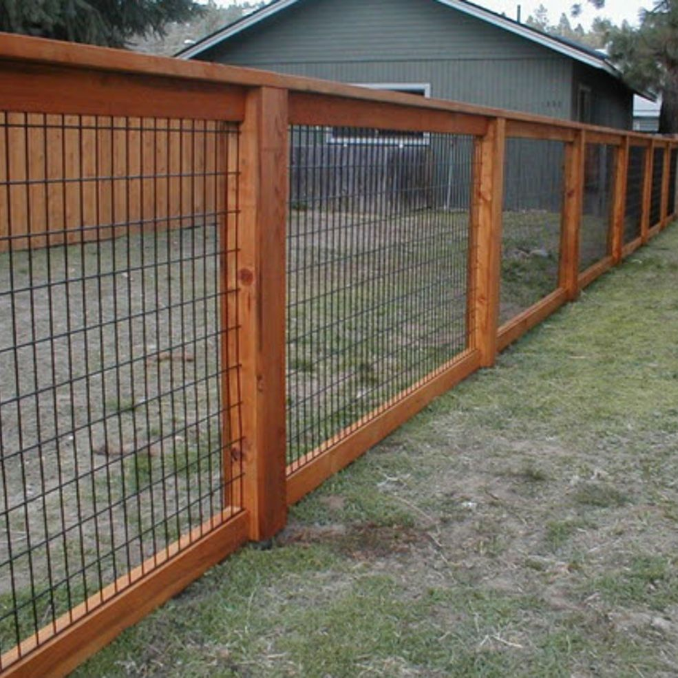 Picture of: Utility Wire Fence Panels