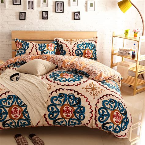 Image of: Vintage Hippie Bedding Sets