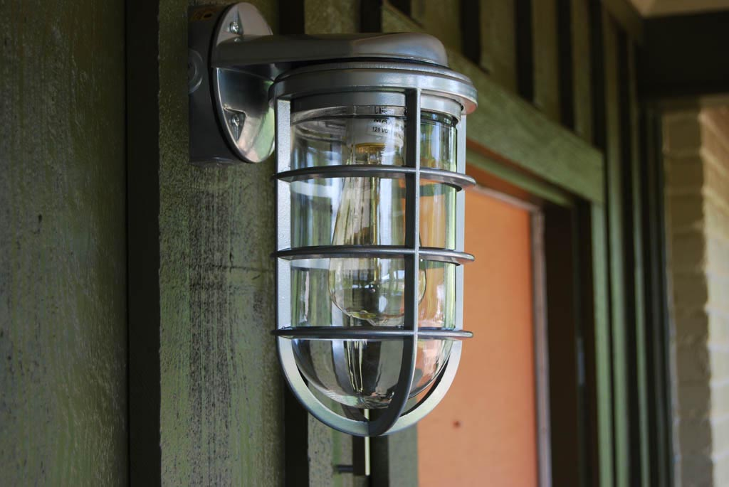 Picture of: Vintage Outdoor Lighting Glass