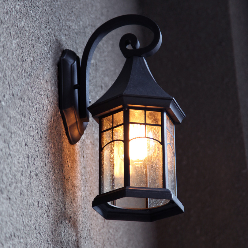 Picture of: Vintage Outdoor Lighting Install