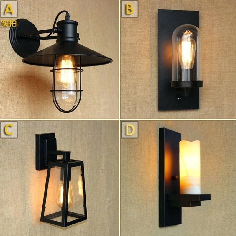 Picture of: Vintage Outdoor Lighting Shapes