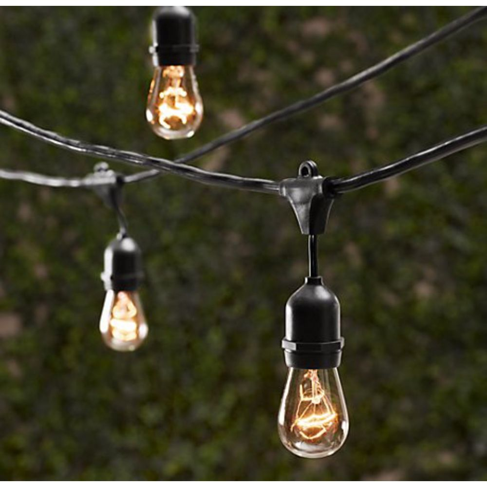 Picture of: Vintage Outdoor Lighting String