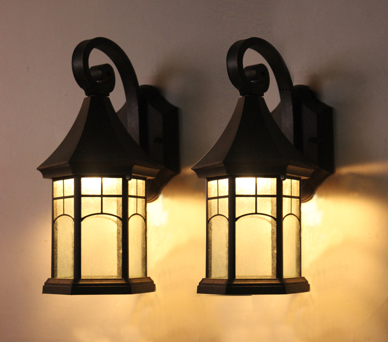 Picture of: Vintage Outdoor Lighting Wall