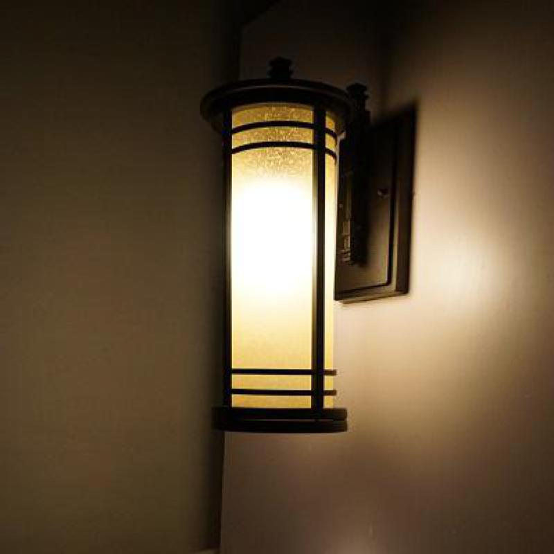 Picture of: Vintage Outdoor Lighting on Wall