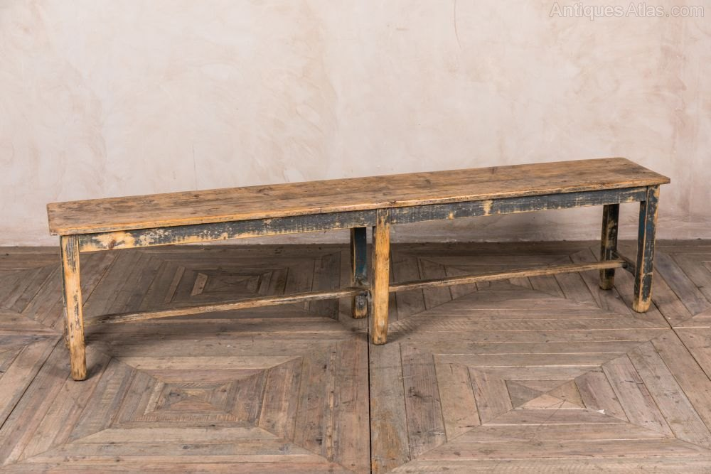 Image of: Vintage Wooden Bench DIY