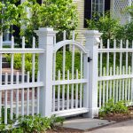 White Front Fence Ideas
