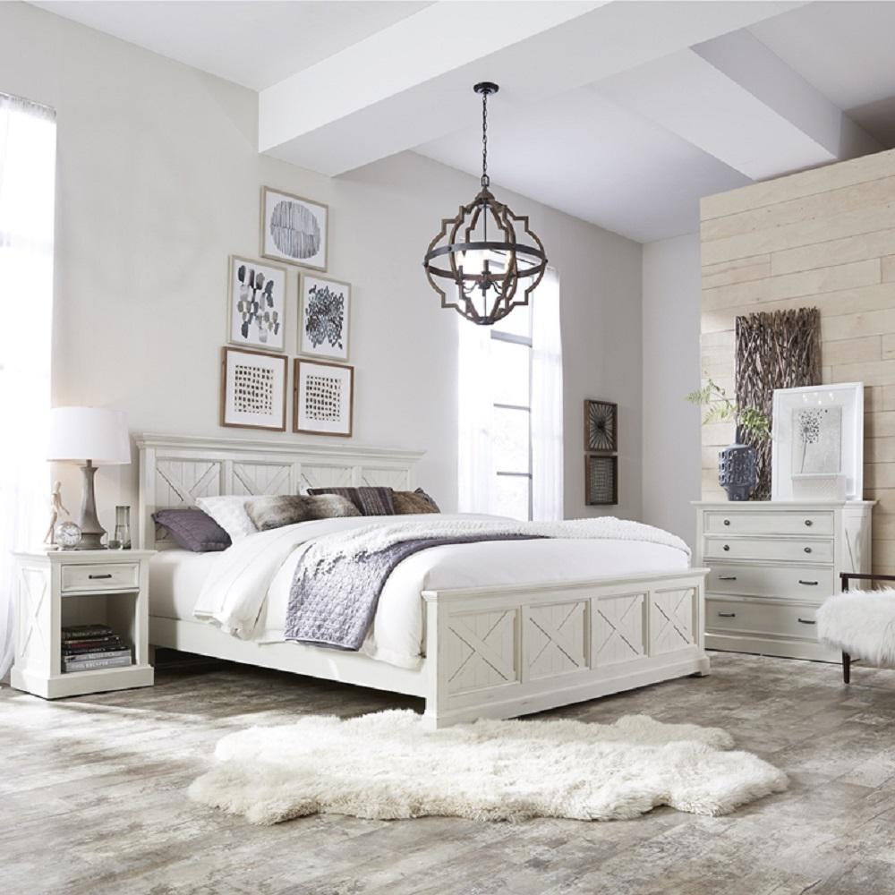 Picture of: White Rustic Bedroom Set