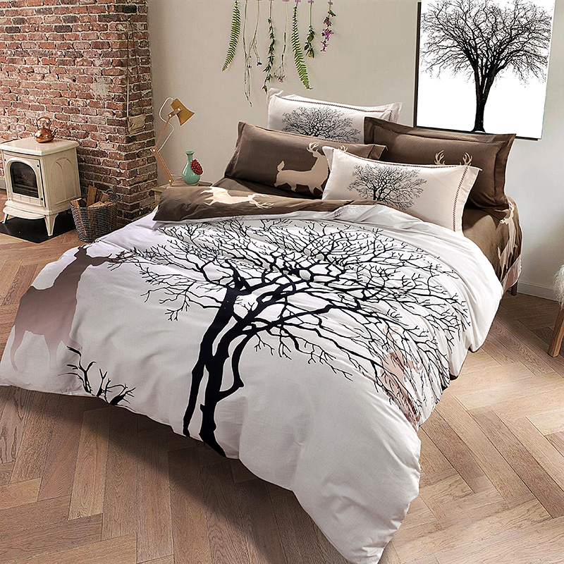 White Tree Comforter Sets