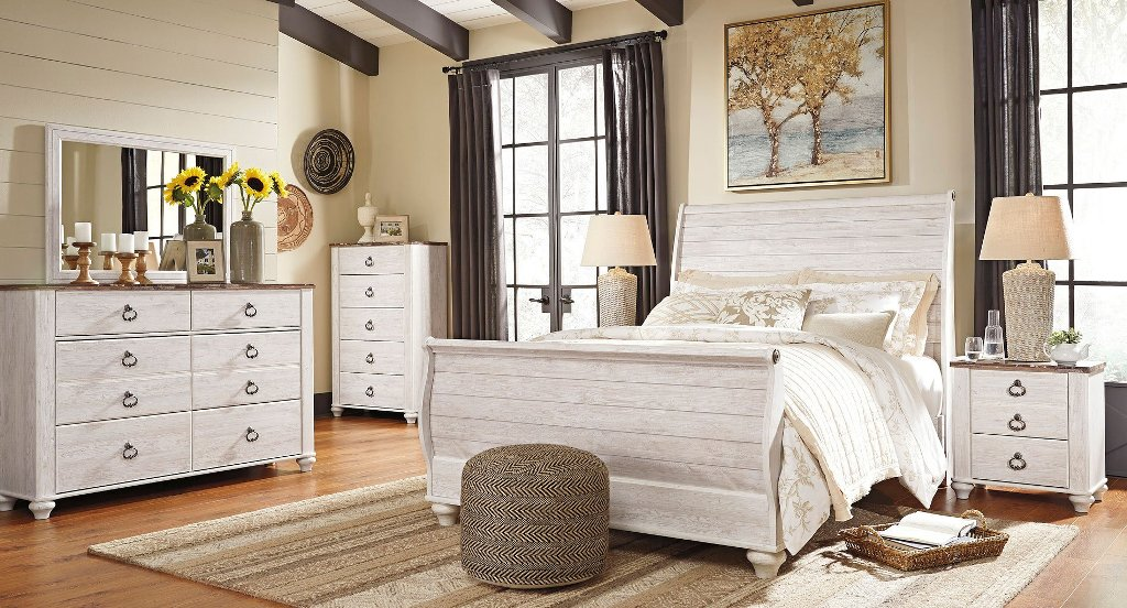 Image of: Why Willowton Bedroom Set Reviews