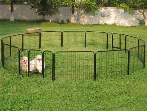 Wide Portable Dog Fence For Camping