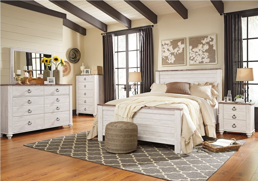 Image of: Willowton Bedroom Set Ashley
