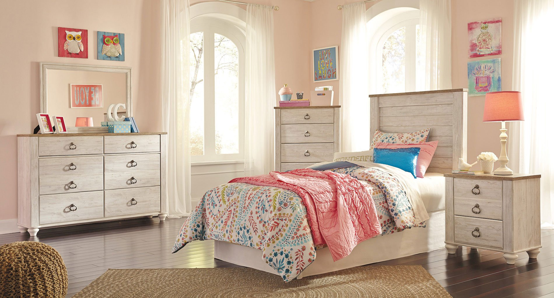 Image of: Willowton Bedroom Set Reviews