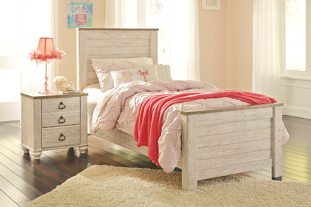Image of: Willowton Twin Bedroom Set