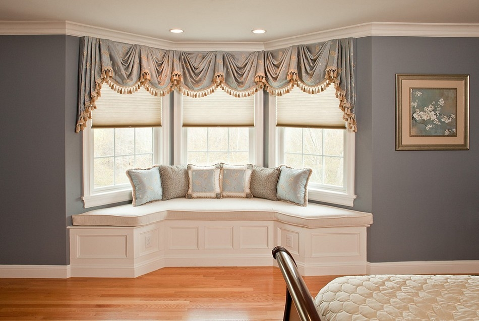 Image of: Window Bench Cushions Decor