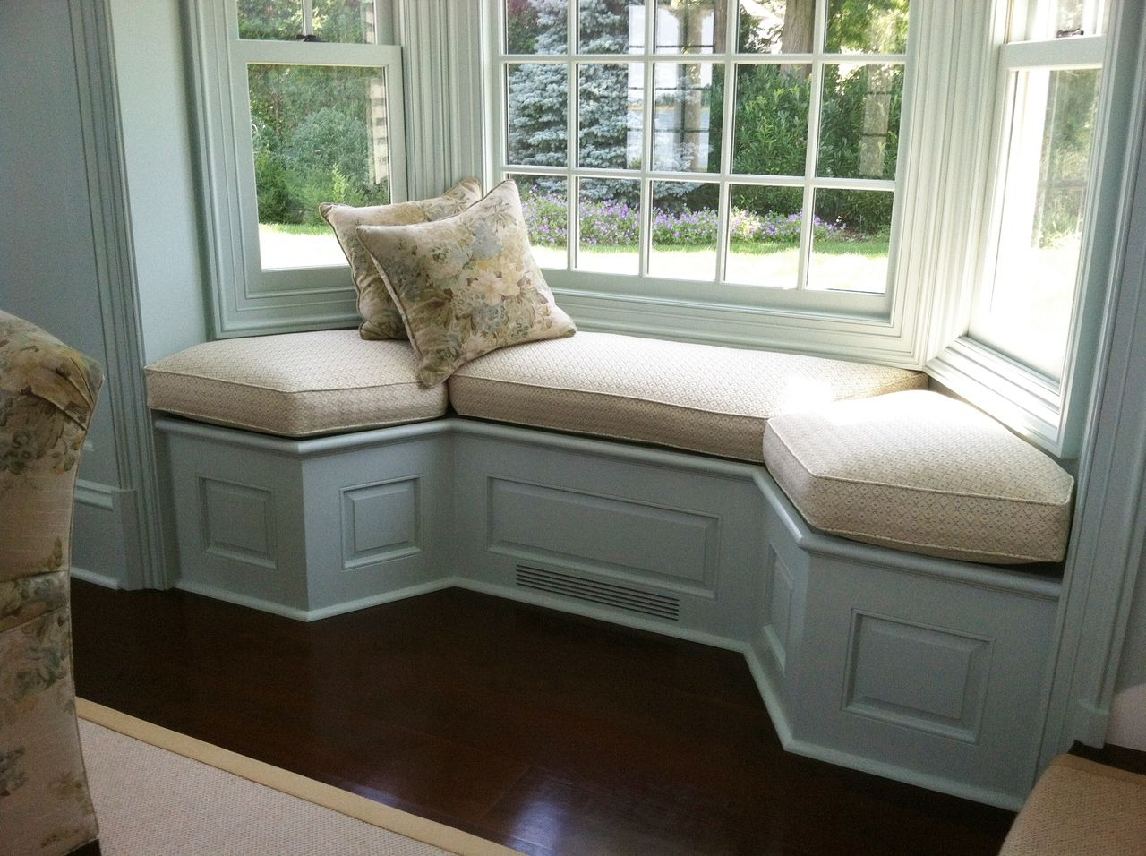 Image of: Window Bench Cushions Space