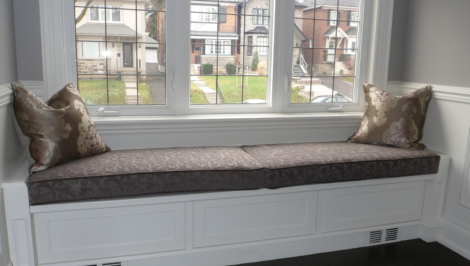 Picture of: Window Bench Seat Cushions Color
