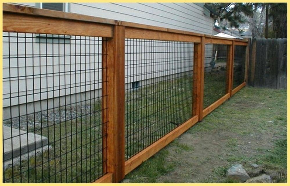 Picture of: Wire Mesh Fence Panels Frame