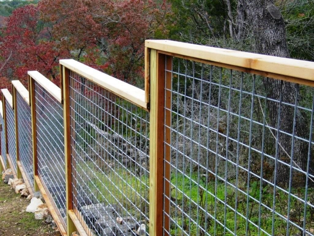 Picture of: Wire Mesh Fence Panels Model