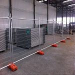 Wire Mesh Fence Panels Stand